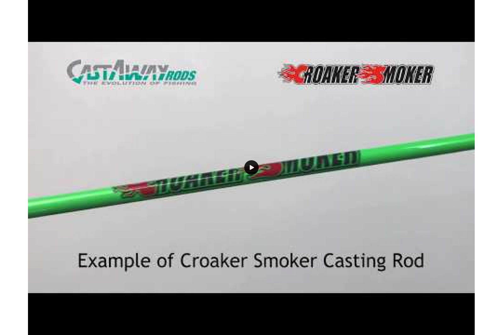 Croaker Smoker  - CS70C - Medium Casting Popping