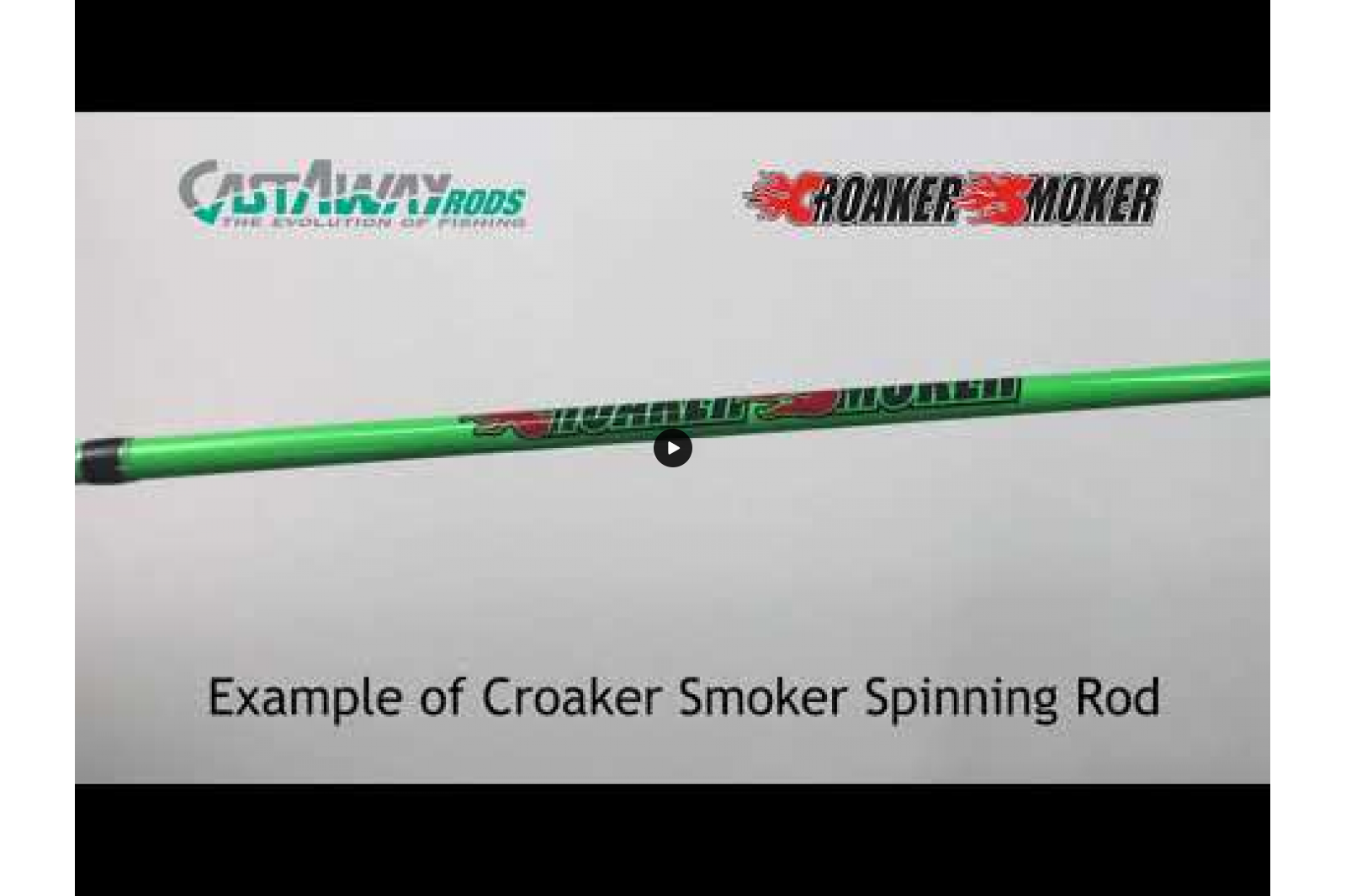 Croaker Smoker  - CS80S - Medium Spinning
