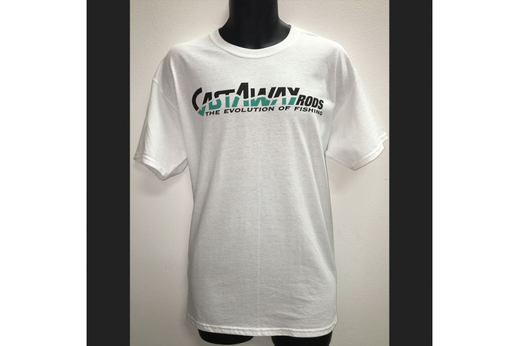 Castaway White Short Sleeve T-Shirt