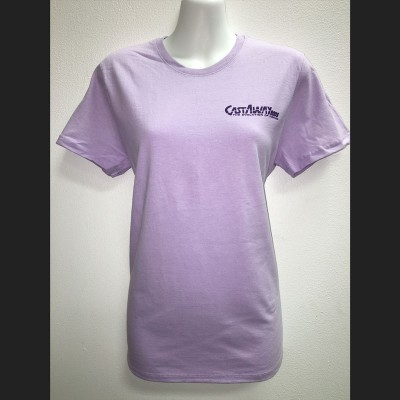 Women's Lavender Short Sleeve